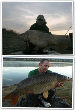 Carp Fishing Orellana. Spain.